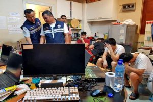 19 Chinese Nationals Arrested Over Illegal Online Gambling In Pattaya