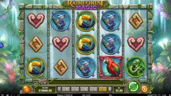 New Slot Release By Play'n GO - Rainforest Magic