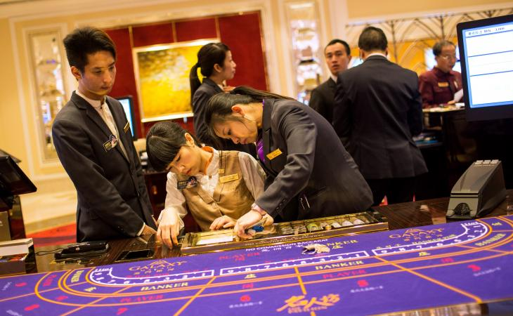 Casino Workers In Macau Cannot Enter Gaming Floors When Off-Duty