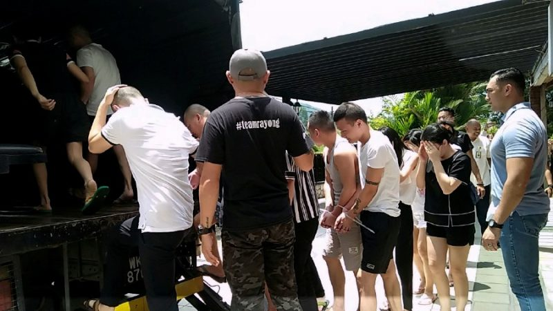 In Two Weeks, Malaysian Police Arrests 247 Members Of A Chinese Gambling Syndicate