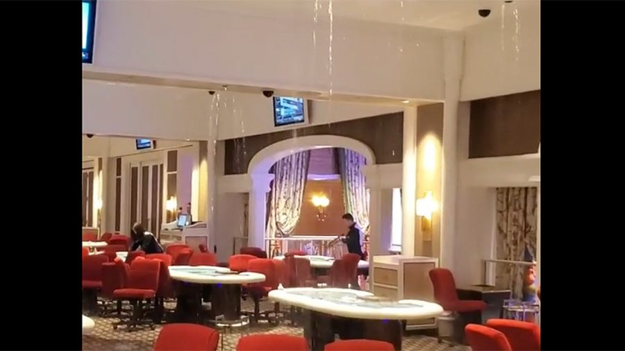 Leaking Ceiling At Encore Boston Harbor Casino Forces Evacuation