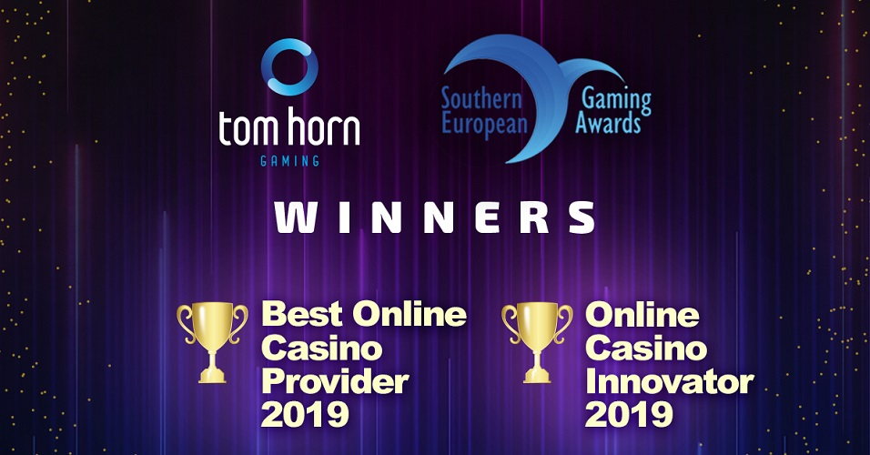Tom Horn Gaming Continues Its Winning Streak At SEG Awards 2019