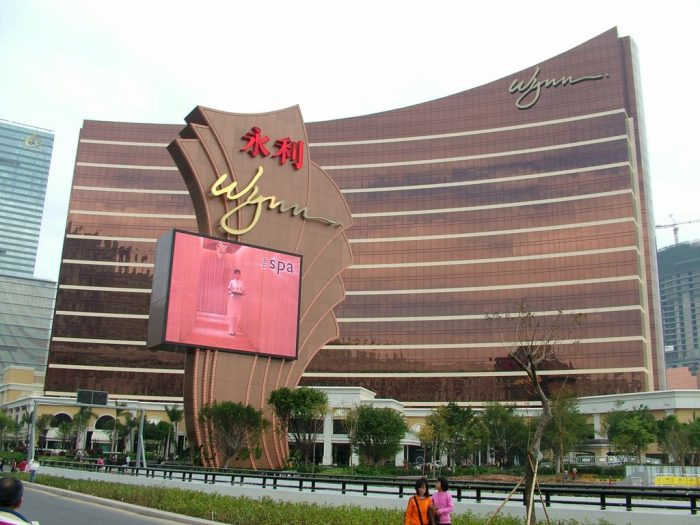 Wynn Macau's Q3 Operating Revenue Down 18 Percent