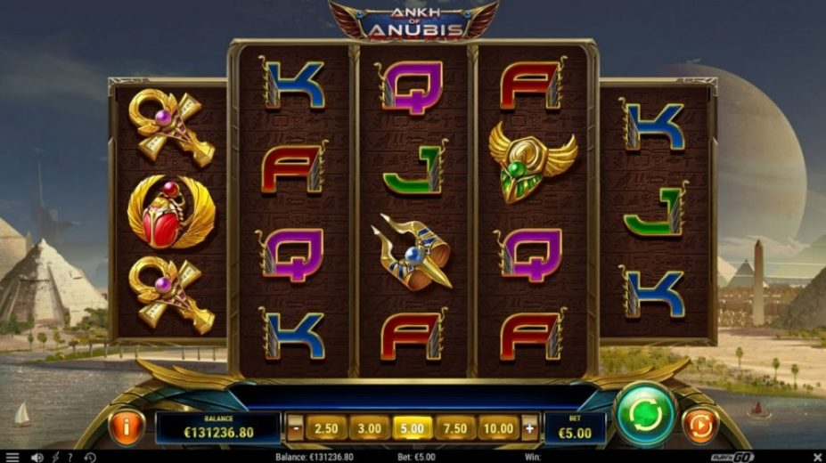 New Slot Release By Play'n GO - Ankh Of Anubis