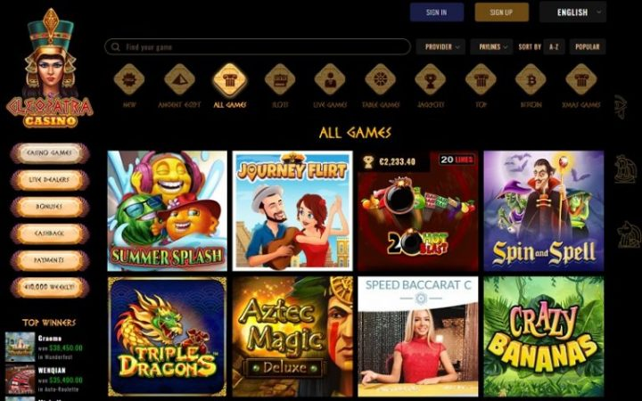 Cleopatra Online Casino To Offer A Whooping 400% 1st Deposit Bonus