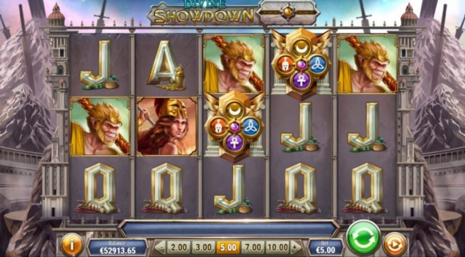New Slot Release By Play'n GO: Divine Showdown