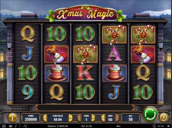 New Slot Release By Play'n GO: Xmas Magic