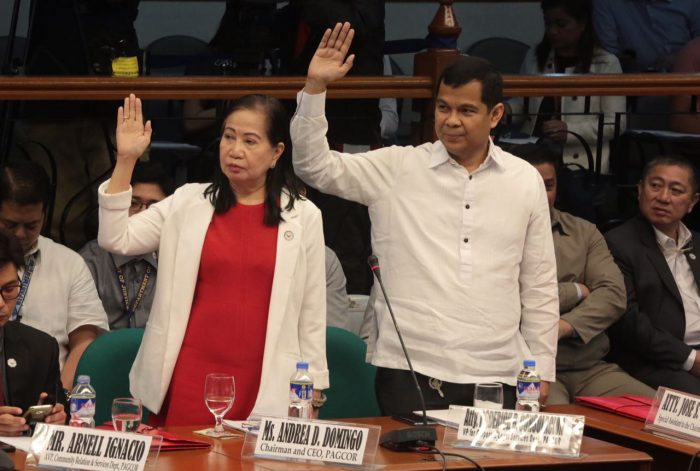 """""""By 2020 We Will Have Addressed 95% If Not 97% Of POGO Including The Dark Side – Prostitution, Kidnapping, Financing:"""" PAGCOR Chief Andrea Domingo"""