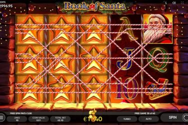 New Slot Release By Endorphina: Book Of Santa