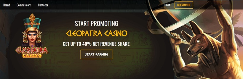 Cleopatra Casino Affiliate Program