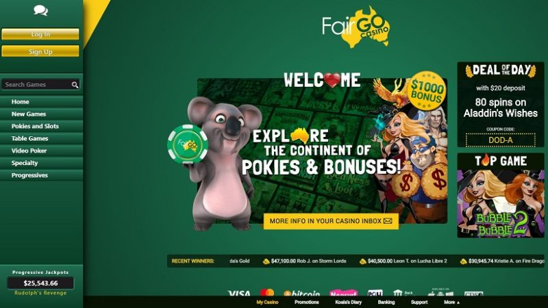 Fair GO Casino General Overview