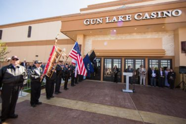 Gun Lake Casino Contributes $53,000 In Charity To five West Michigan Counties