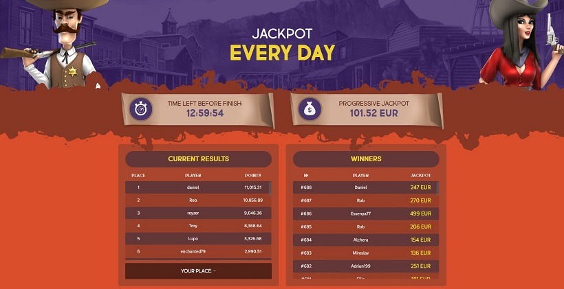 GunsBet Casino Tournaments