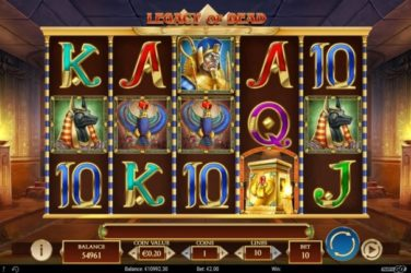 New Slot Release By Play'n GO: Legacy Of Dead
