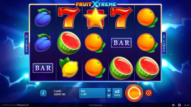 New Slot Release By Playson: Fruit Xtreme