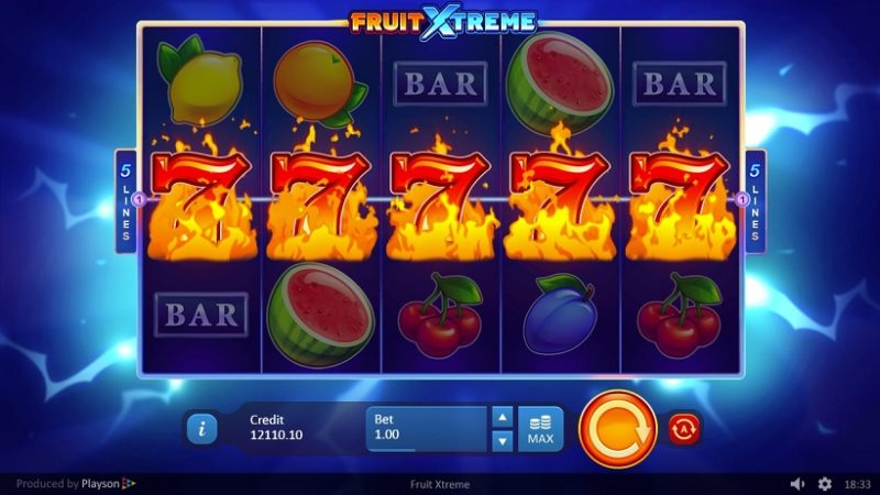 New Slot Release By Playson Fruit Xtreme Casino Buzz