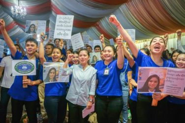 Casino Workers At Cambodia's Naga World Casino Go On Strike Demanding Better Pay