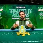 Timothy Adams Wins Australian Poker Open Event #3 For AUD $416,500