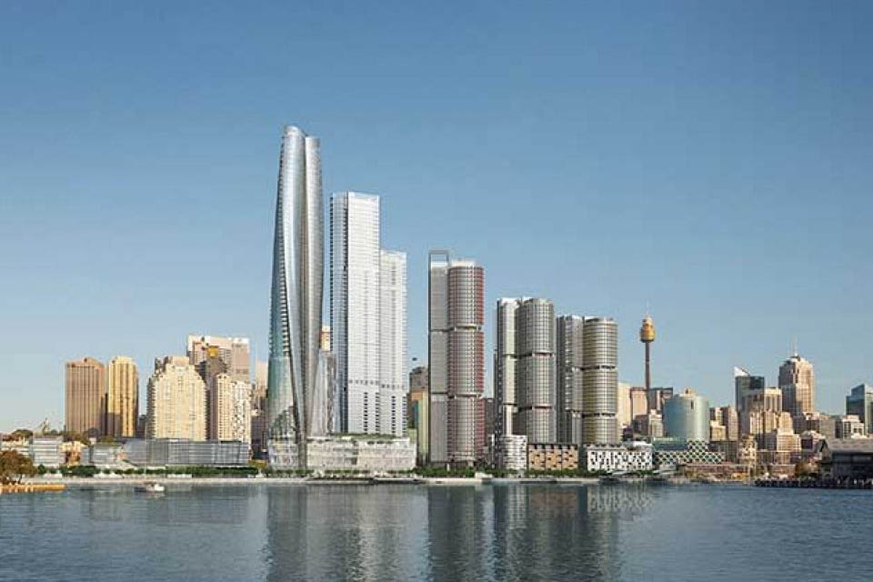 James Packer's Casino Hit By Construction Site Crane