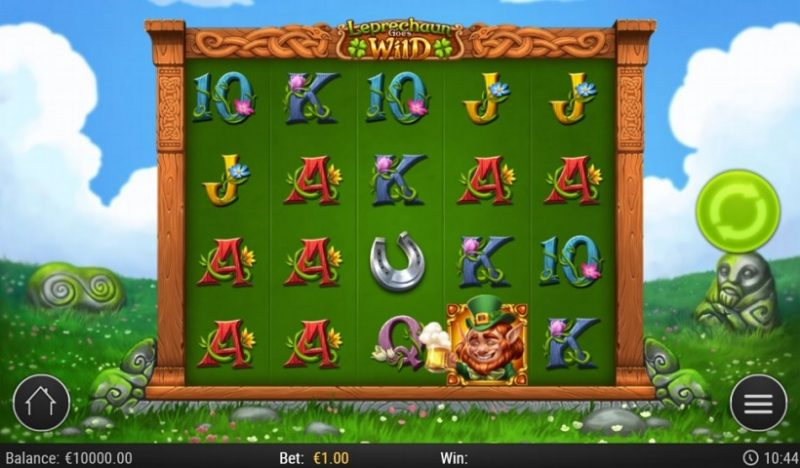 New Slot Release By Play'n GO - Leprechaun Goes Wild
