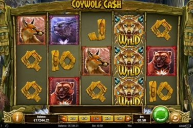 New Slot Release By Play'n GO: Coywolf Cash