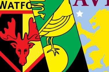 Watford, Aston Villa and Norwich Predicted To Be Relegated From EPL