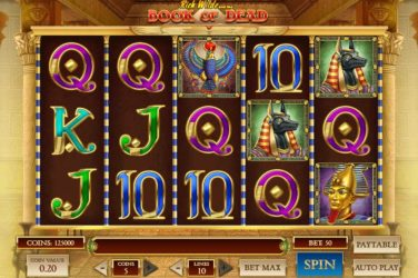 50 Free No Wagering Spins On Book Of Dead Slot