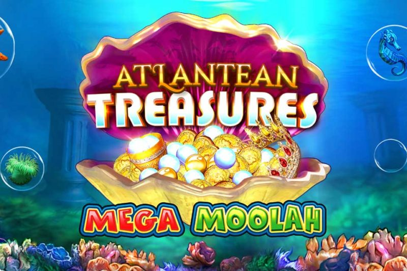 Microgaming Launch New Progressive Slot Game: Atlantean Treasures Mega Moolah