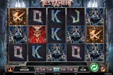 New Slot Release By Play'n GO: Testament