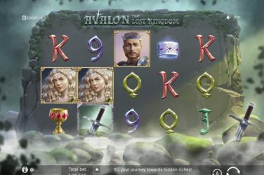 New Upcoming Slot Release By BGaming - Avalon:The Lost Kingdom