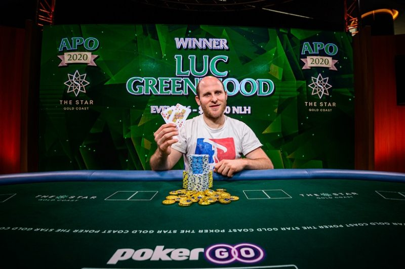 Luc Greenwood Wins Australian Poker Open Event #6 – Nemeth Extends Championship Lead