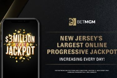 Largest Online Progressive Jackpot In The United States Reaches $3 Million