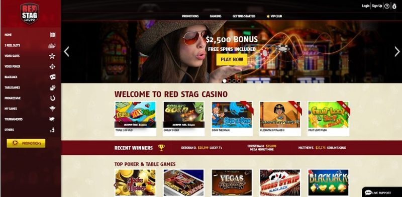 Red Stag Casino General Overview