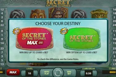 New Version Of Secret of the Stones Slot Released By NetEnt