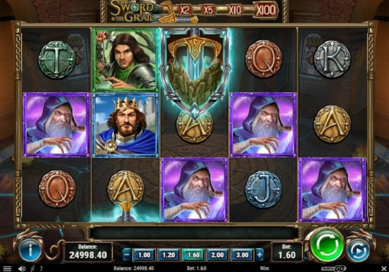 The Sword And The Grail Slot by Play'n Go Review