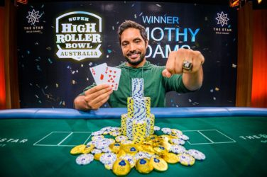 Timothy Adams Wins Super High Roller Bowl Australia For AU$2,160,000