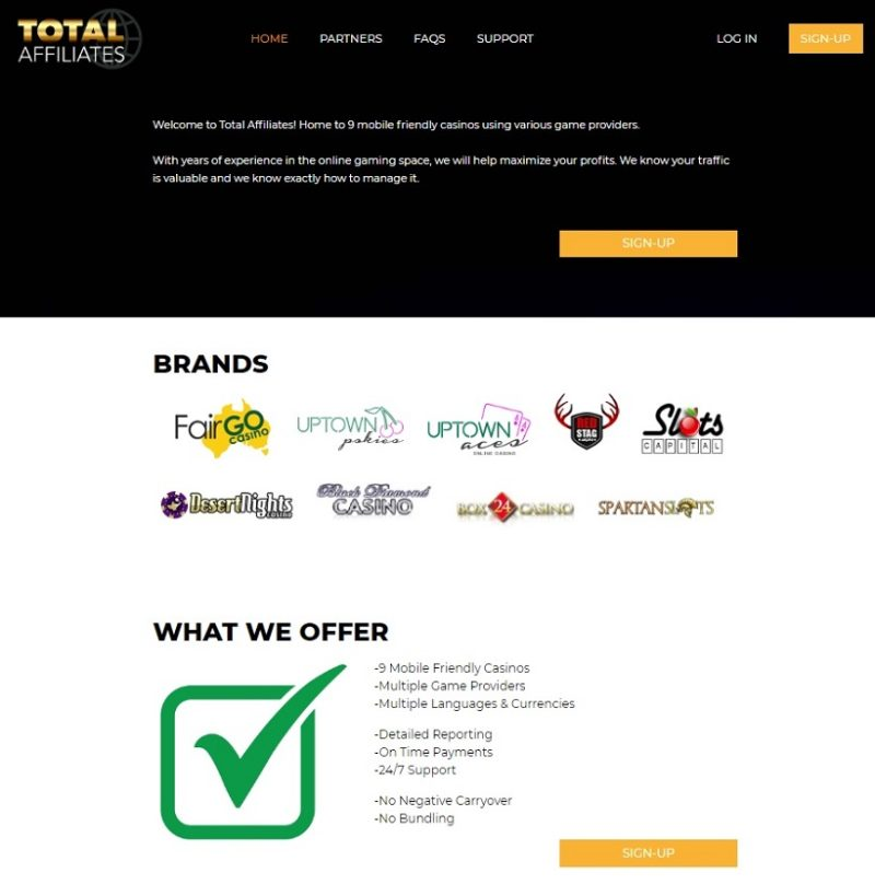 Box 24 Casino Affiliate Program