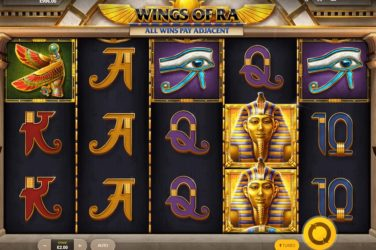 New Slot Release By Red Tiger: Wings Of Ra