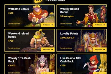 Experience The Best Bonuses At Zet Casino
