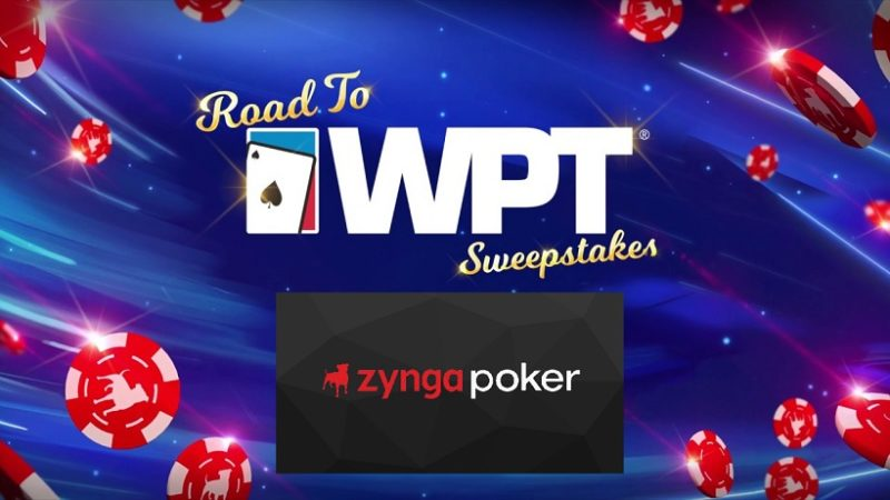 Zynga Poker And World Poker Tour®Partner For One-of-a-Kind High Roller Sweepstakes Event