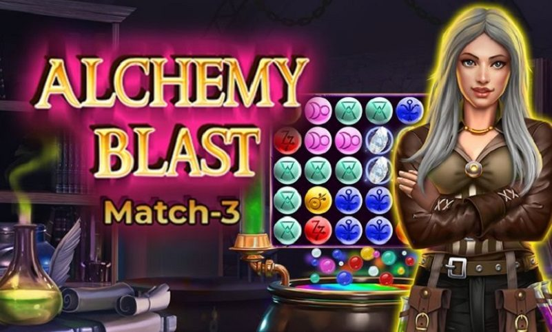 New Match-3 Slot Release By Skillzzgaming: Alchemy Blast