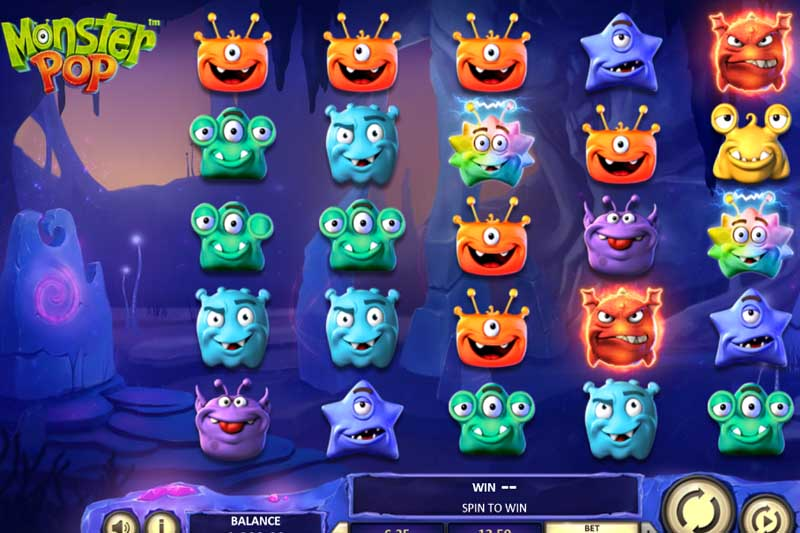 New Slot Release By Betsoft: Monster Pop - Review