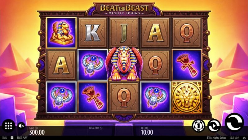 New Slot Release By Thunderkick: Mighty Sphinx