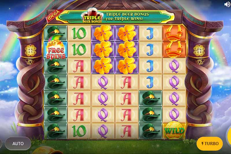 New Slot Release By Red Tiger: Rainbow Jackpots Power Lines