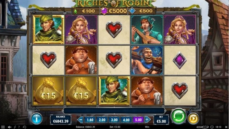 New Slot Release By Play'n GO: Riches of Robin