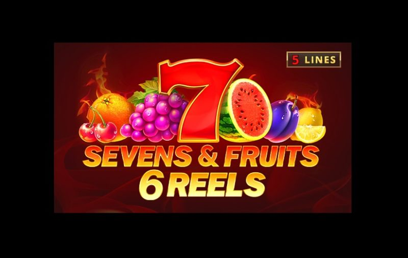 Sevens & Fruits: 6 Reels Slot By Playson - Review