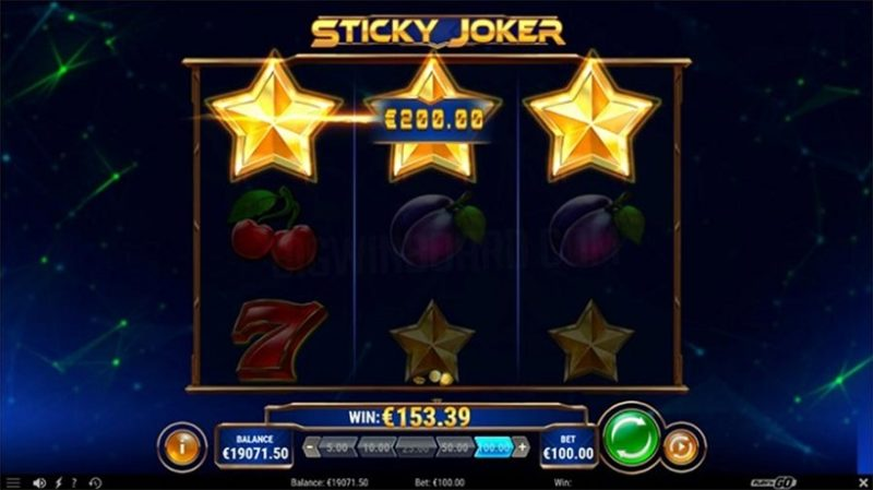 Sticky Joker Slot Review By Play'n GO