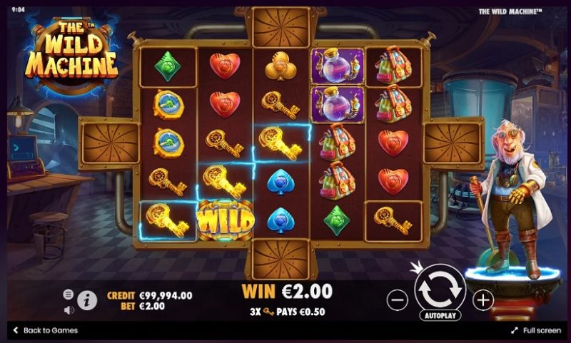 New Slot Release By Pragmatic Play: The Wild Machine™