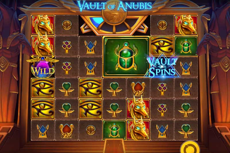 New Slot Release By Red Tiger: Vault of Anubis