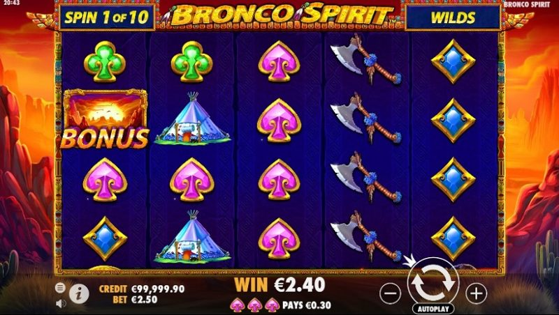 Bronco Spirit Slot Review